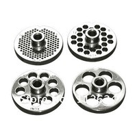 32# stainless steel meat grinder plate,food grinder disc plate with hub