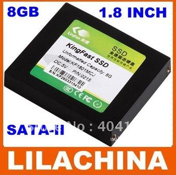 "KingFast KF1801MCM 1.8"" SATA-II MLC SSD Solid State Drive - 8GB free shipping"