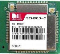 Pin to pin compatible with SIM548C module, SIM908-C/SIM908
