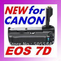 Freeshipping New Power Battery Grip for Canon 7D Camera BGE7 BG-E7