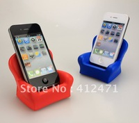 Free shipping Wholesale - High Quality Soft Plush PU foam material 20pcs/lot chair phone holder
