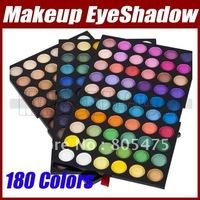 Professional Pro 180 Color Makeup Warm & Cool EyeShadow Palette eye Shadow