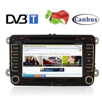 7 inch 2-DIN In-Dash Car CD DVD Player Radio GPS DVB-T TV Pure Fastest Android 2.3 3G WiFi For VW Golf 5 6 Passat CC Tiguan