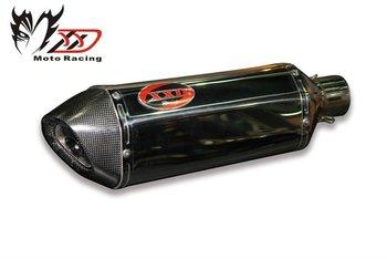 Hexagon stainless steel  fiber  miffler exhaust (300mm 51 Diameter)