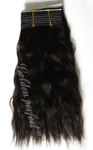 100% natural Indian remy human hair weave super wave natural black 10inch to 16inch 300g a lot(China (Mainland))
