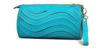 FREE SHIPPING multifunctional wristlet/clutch/mobile phone PU LEATHER Clutch bag Purse handbag(four colors)