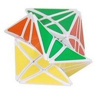 Lanlan Flower Rex Puzzle Magic Cube White Speed Cube        M013