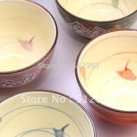 Exported Japan Jingdezhen Japanese Tableware Korean peaceful happiness Colorful Bowl Ceramic Bowl ceramic bowl