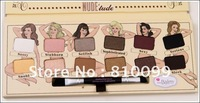 1 pcs The balm NUDE tude 12 colors eyeshadow palette makeup 11.08g makeup ! free shipping! makeup2013