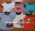 Special offer Clearance stock! Neborn Unisex baby T-Shirts 100% cotton top shirt Tees Carter's 10/pcs/lot Free shipping