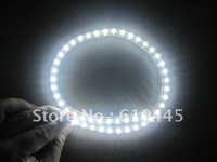 40PCS  PVC Flexible Car LED strip light Waterproof 24 LED lamp 24cm car decoration light led car light free Shipping