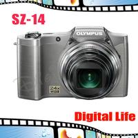 Original Olympus SZ-14 SZ14 Wide-angle 24x Zoom Long Focus 14.0MP  Digital Camera Free Shipping