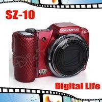 Original Olympus SZ-10 SZ10 Wide-angle 18x Optical Zoom Long Focus 14.0MP  Digital Camera Free Shipping