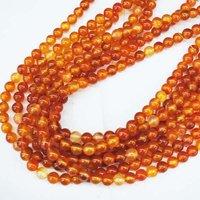 114 pcs/Lot,Nature Red Agate Beads,Carnelian Beads,Loose Semi Precious Stone Beads,Jewelry Beads & Fittings,Size: 10mm