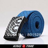 Kingtime  Freeshipping Hot Sell Weaving Belt Casual Men's Belt    DPD236