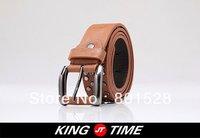 KINGTIME Free Shipping Hot Sell Rivets Wild Belt Fashionable Casual Men's Belt  DPD240