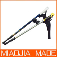 Free shipping for DHL 60pcs/lot P04 Factory Price three Joint Alpenstock Walking Sticks Hiking Pole Alpenstock Best Sale 311MJ