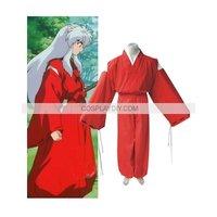Hot sale Custom made InuYasha Feudal Fairy Tale InuYasha Cosplay Costume   (free shipping)