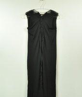 Free shipping fashion Beach style chic tether Bohemia long dress grey black