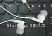 wholesale 50pcs/lot New In-Ear Earphone 3.5mm Headphone For iPhone 4S iPod MP3 MP4 CD Player PSP Free Shipping