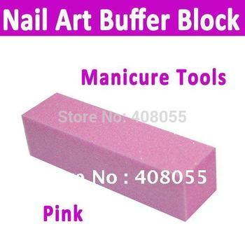 Free Shipping Nail art & nail care 4 way pattern buffer block polish smooth nail file   Professional use or home use.new brand