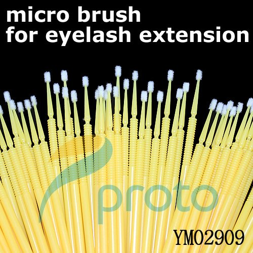 Freeshipping-800PCS Micro Brush Applicators for Eyelash Extension Application and Removal SKU:M0192X(China (Mainland))