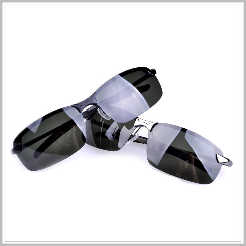 Free shipping, 2013 man new polarizing sunglasses Sunglasses+glasses box