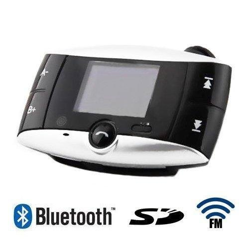 S5Q Bluetooth Car Kit MP3 Player FM Transmitter SD MMC USB Handfree Phone Remote(China (Mainland))