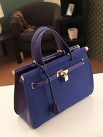 Fashion ladies handbag,new style shoulder with golden clicps bags,free shipping
