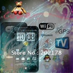Star MTK6573 Phone A1200 Andriod 3G Mobile phone 4.3 Inch HD capacitive touch screen WIFI Real GPS WCDMA 3G +GSM DHL Free(China (Mainland))