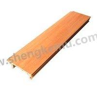 50*14 cut ceiling ,gridiron ceiling wpc wood composite