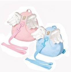 Pink Blue Angel wing Toddler Safety Harness kid Cotton Reins Baby Sling Backpack Child Walker Buddy Carrier Infant Back Pack(China (Mainland))