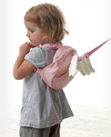 Free Shipping wholesale 5pcs/lot Angel wing Toddler Safety Harness kid Cotton Reins Baby Sling Backpack Child Walker Back Pack