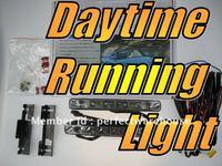 Universal fit Daytime Running Lights LED SMD Kit Super White 12V 6000K Bulbs Lamps Globes