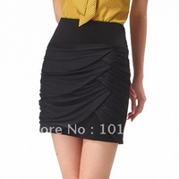 FREE SHIPPING 2014 new women high waist skirt high quality female work wear tailored skirt  7004  0134
