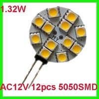 12pcs Led G4 Down Light 5050 smd Wide Volt12VDC/12VAC Bi-pin Full Color 1.32w Camper Carts Marine Bulb Lamps