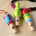 Whistle Reatil  Brand new 1 pcs/lot  Colourful Wooden Whistle  toys for boys