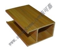 90*50 ceiling  wpc wood copy wood, environmental protection and energy saving