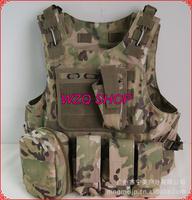 600d Nylon military tactical vest multicam color