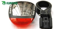 Free shipping! hot green products ! Solar energy  Bicycle led light,bicycle led tail light