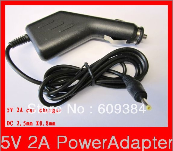 FCC CE 5V 2A Power Adaptor Car Charger for FlyTouch 3 4 5 6 SuperPad Tablet PC aPad MID US(China (Mainland))