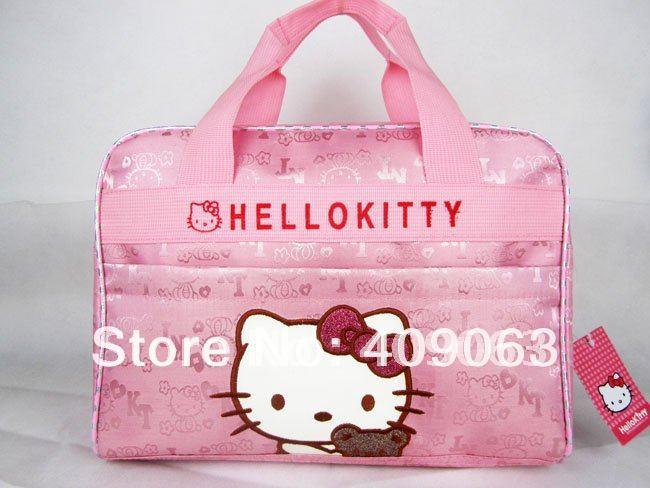 Free shipping!Children's tote bag hello kitty handbag kids' school bag kids satchel messenger bags(China (Mainland))