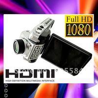 "HD Car video DVR Recorder 1080P 25fps Car camera F900 Car black box 2.5""tft LCD HDMI Night vision F900LHD Carcam with track code"