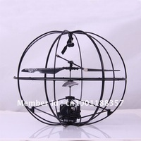 3 CH R/C Infrared Remote Control UFO Style Helicopter with Light, Built-in Gyroscope, (777-286)