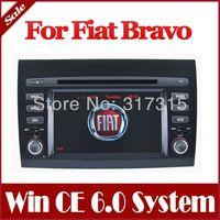 2-Din Car DVD Player for Fiat Bravo 2007-2012 with GPS Navigation Radio Bluetooth USB AUX Map TV Stereo Auto Audio Video SatNav