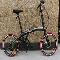 YAMAMOT brand Dual disc brakes bike, speed bike, folding bicycle,portable bike,free carry bag.