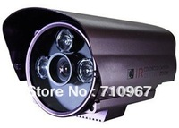 free shipping arrayed ir camera 3 array lamps infrared camera 650tvl ir distance 100m