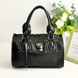 2012 New England fashion big-time  hangdbag , retro urban se Ladies handbag,with Boston lock Totes,shoulderbag free shipping