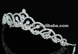 Bridal Wedding Party Quality Stylish Austrian Crystal Tiara CT1407(Hong Kong)