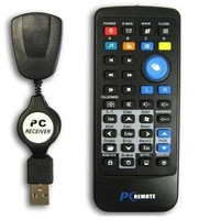 USB PC HTPC Laptop Remote Control Controller for XP Vista window7 system free drives free shipping